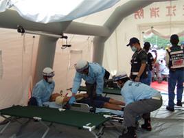 災害拠点病院としての役割